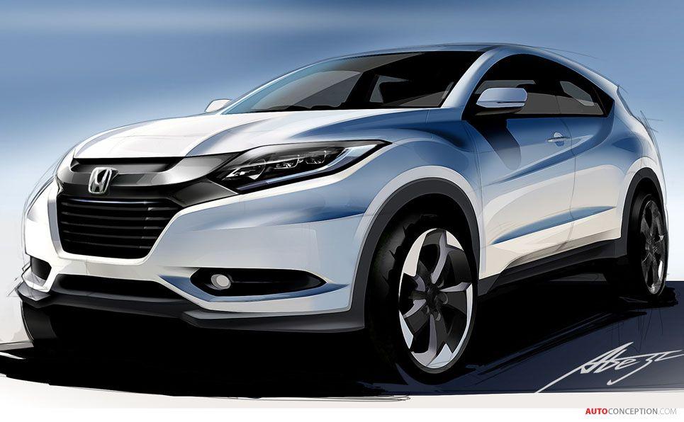Honda Announces Europe Wide Launch For New Vezel Suv Autoconception Com Honda Hrv Concept Car Design Car Design