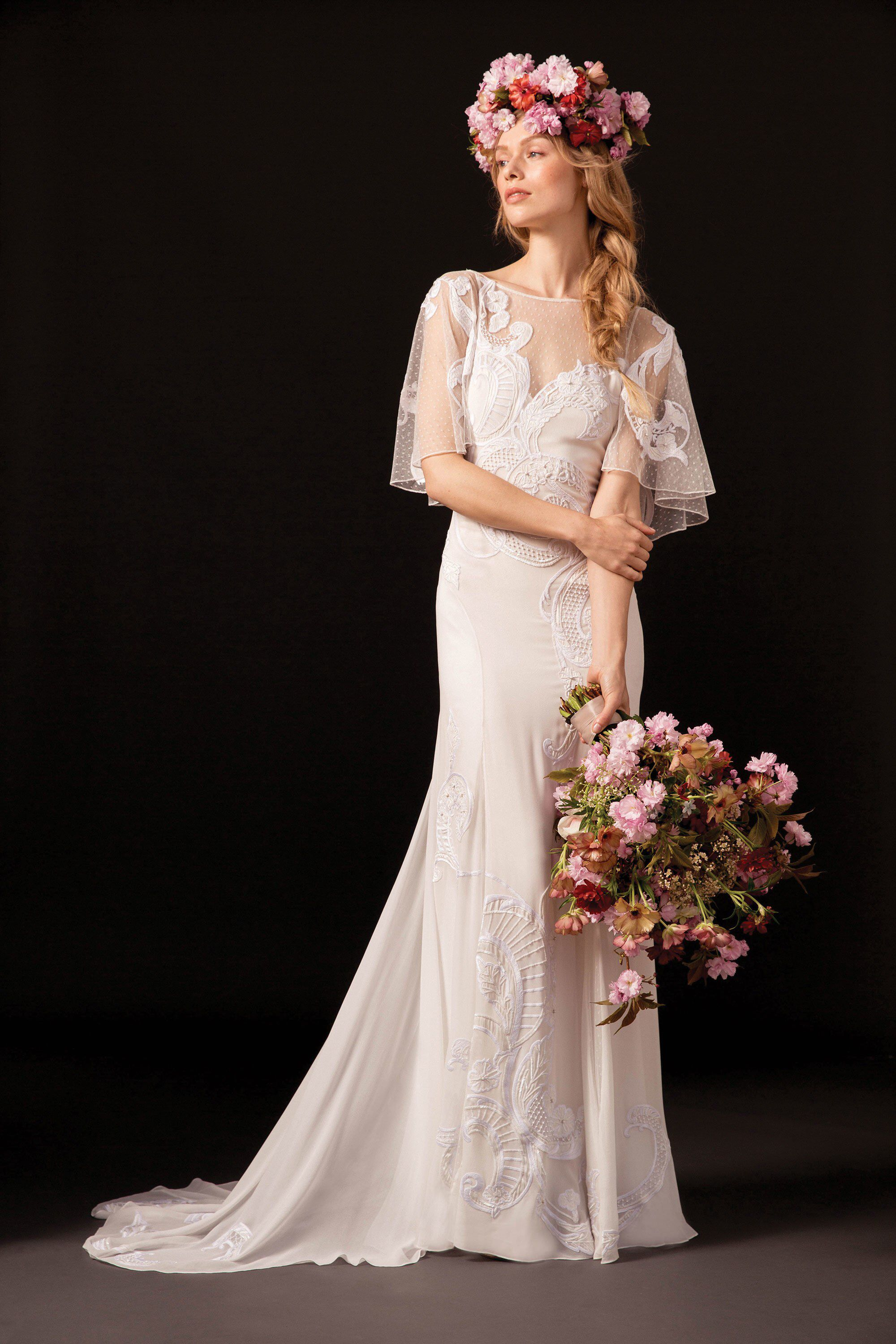 Alice temperley wedding dresses  Temperley London Bridal Spring  Fashion Show  Temperley Gowns