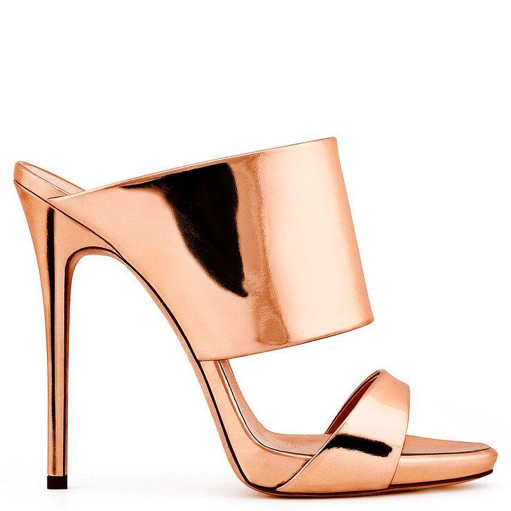723855489b3f48  675 ANDREA - GOLD PINK - Sandals