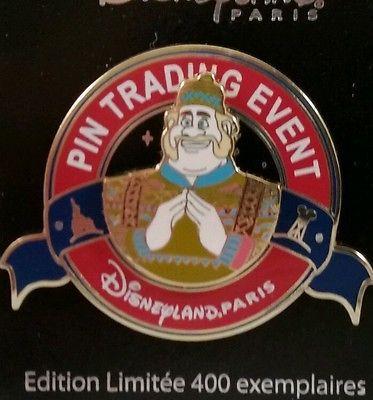 DISNEYLAND PARIS OAKEN LET IT SNOW FROZEN PIN TRADING EVENT LE 400