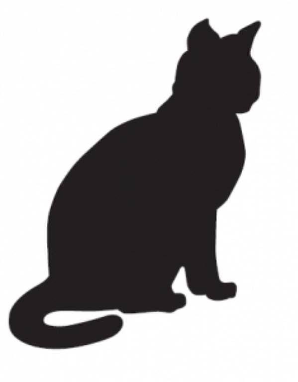 amor de silueta gato - photo #18