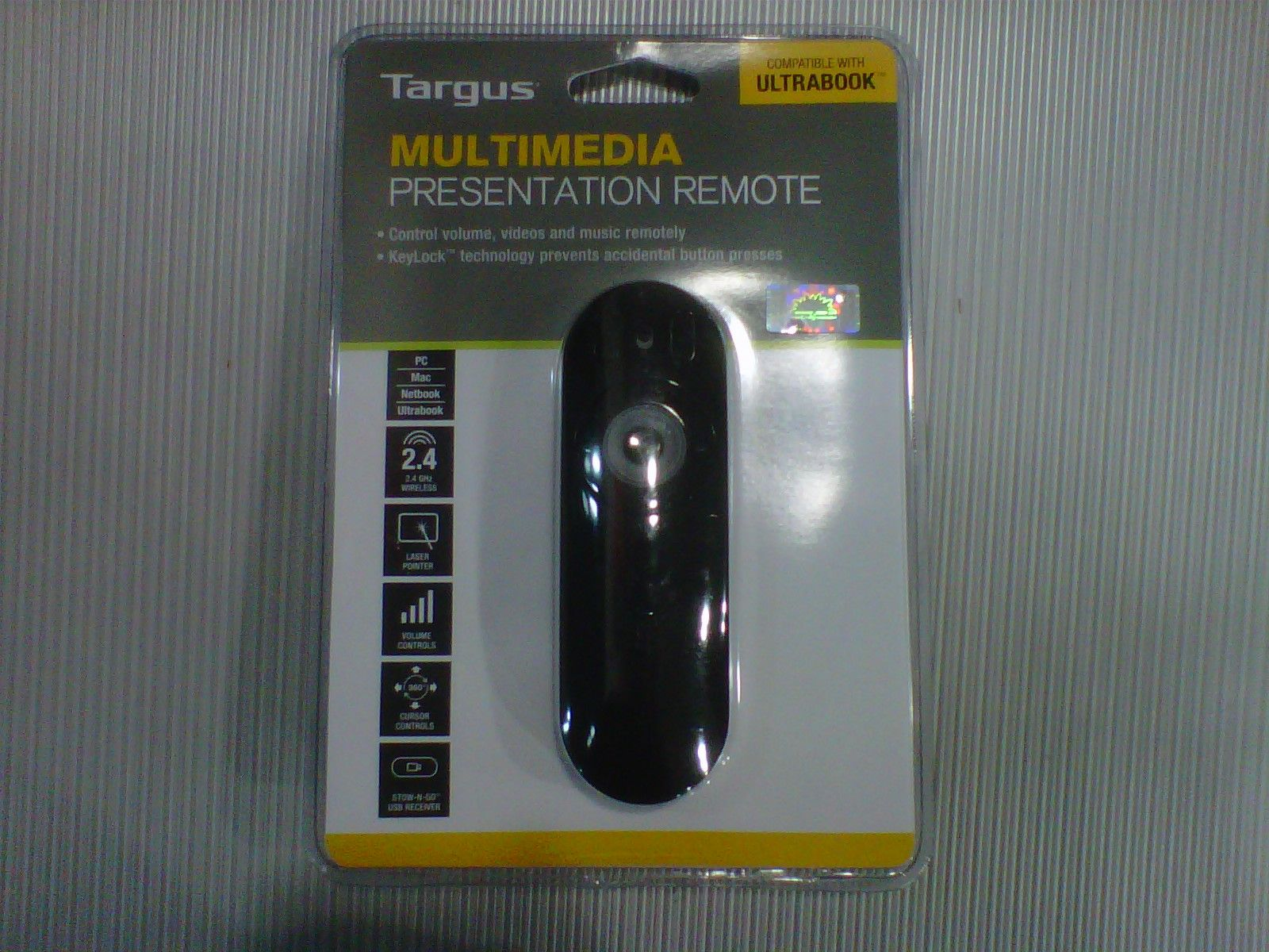 targus multimedia laser presenter AMP09AP-51 only Rp.500.000