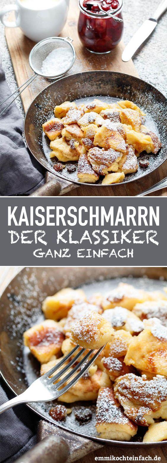 kaiserschmarrn ganz klassisch rezept essen pinterest backen dessert und kaiserschmarrn. Black Bedroom Furniture Sets. Home Design Ideas