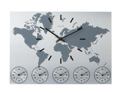 Multiple Time Zone Clocks Google Search World Clock Wall Clock Simple Time Zone Clocks