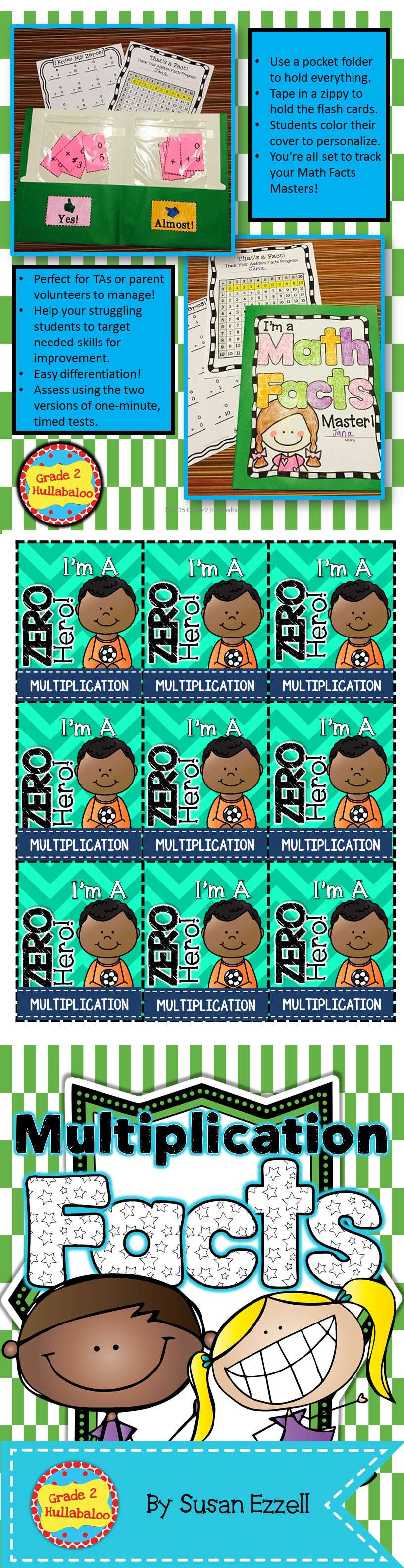 Multiplication -- Flash Cards, Timed Tests, Tracking Forms and Brag ...