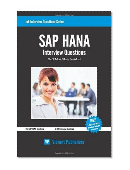 We provide sap hana online training in live with job support, job - interview questions for servers
