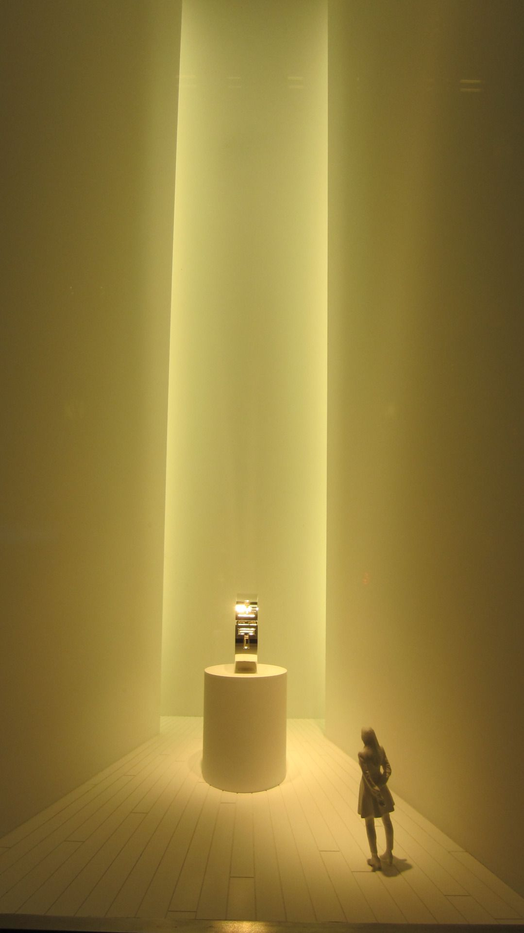 """TIFFANY&CO.,New York, """"The First Solo Exhibition"""", pinned by Ton van der Veer"""