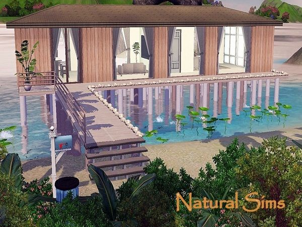beach house 5natural sims - sims 3 downloads cc caboodle | the