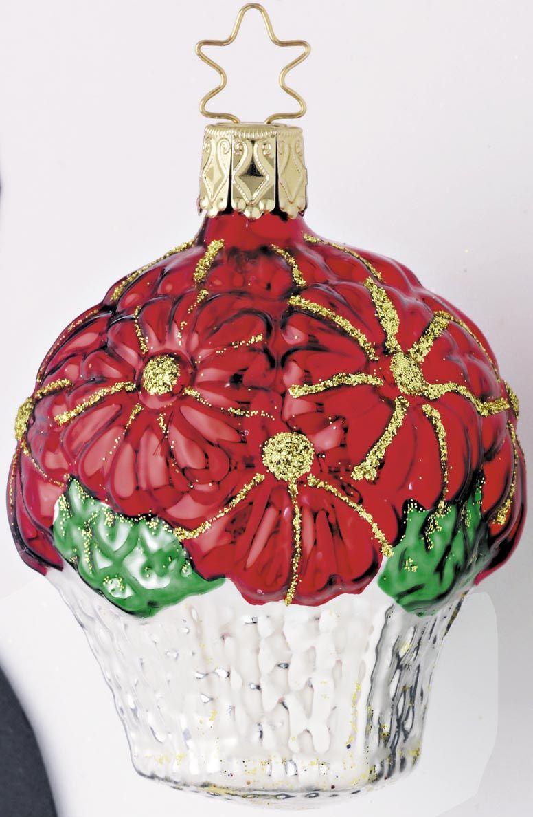 Inge Glas 2005#Christbaumschmuck#aus dem Hause Inge Glas.Weihnachtsbaumschmuck made in Germany mundgeblasen und von Hand bemalt bei www.gartenschaetz...