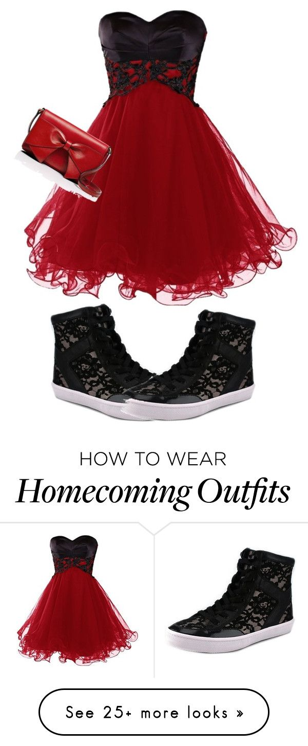 """""""Dress with High Tops"""" by kayleecat124 on Polyvore featuring Rebecca Minkoff, Kate Spade, women's clothing, women's fashion, women, female, woman, misses and juniors"""