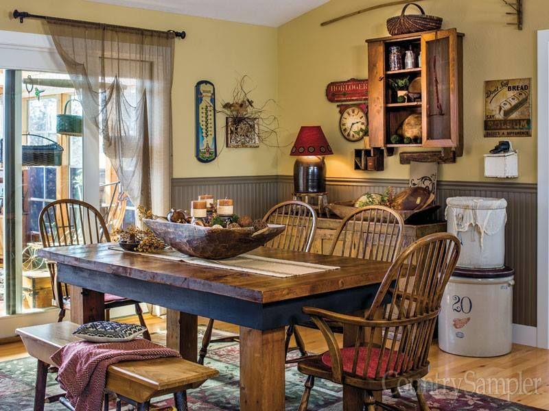 Found on country sampler magazine country decor rustic