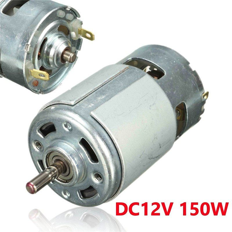 Dc 12v 100w 1300015000rpm 775 Motor High Speed Large Torque Dc