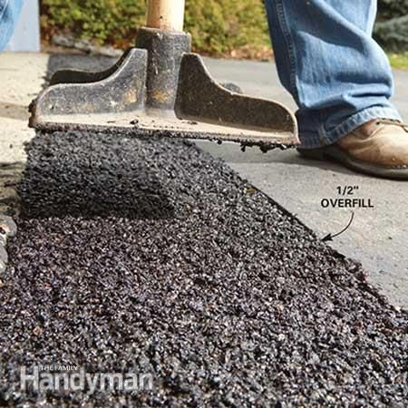 How To Fix A Sinking Driveway Driveway Repair Diy Driveway Diy Home Improvement