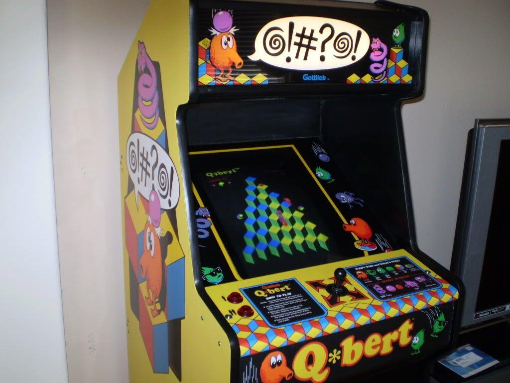 Q*bert | 1980's Arcade | Pinterest | Arcade, Video games and ...