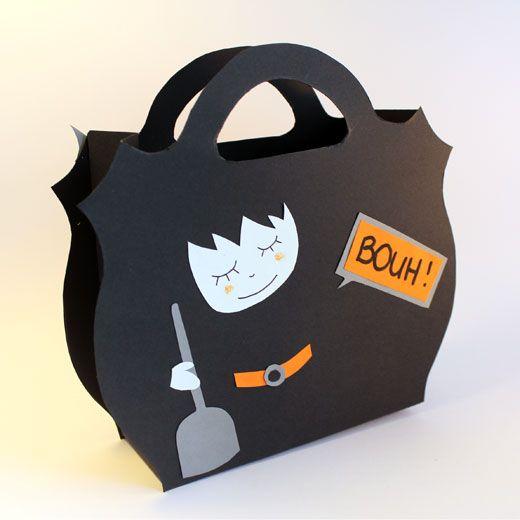 sac bonbons halloween atelier enfant caen savoir et cr er bricolage enfant pinterest. Black Bedroom Furniture Sets. Home Design Ideas