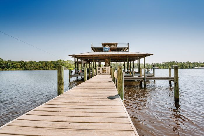 Deck on Mobile Bay. #outdoor #living