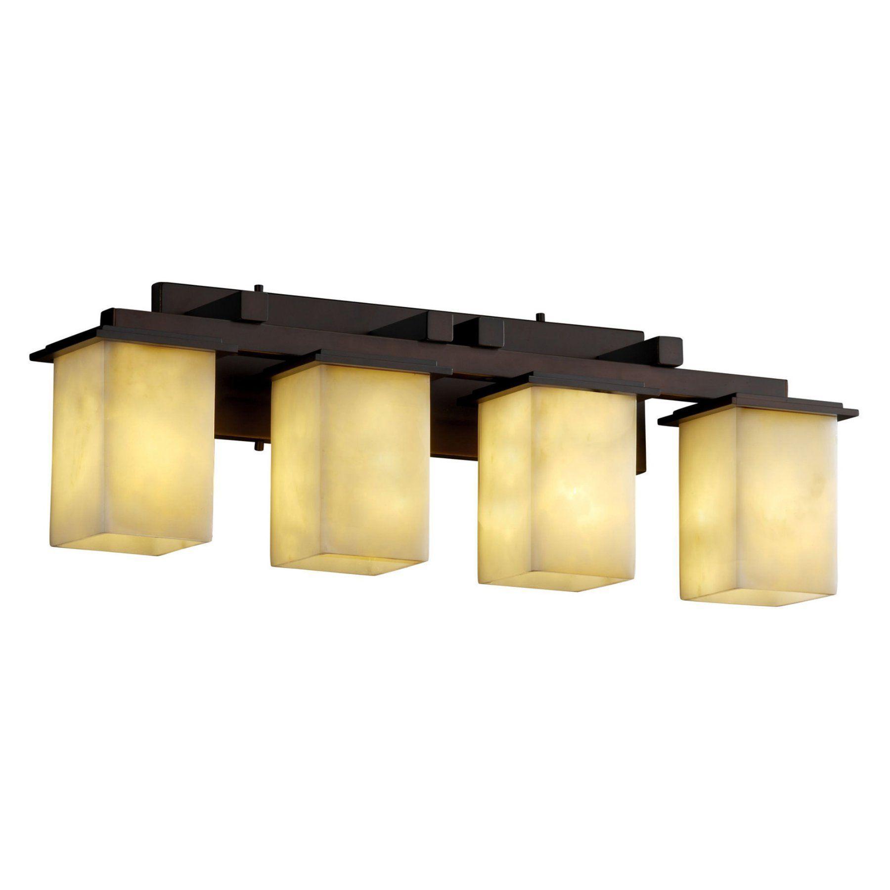 Justice Design Group Cld 8674 Montana 4 Light Bath Bar
