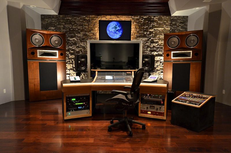 Custom Designed Studio The Grotto Music Studio Room Studio Interior Music Studio