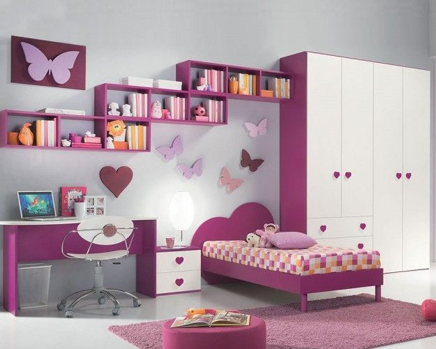 40 Beautiful Bedrooms For Children With Classical Modern Designs