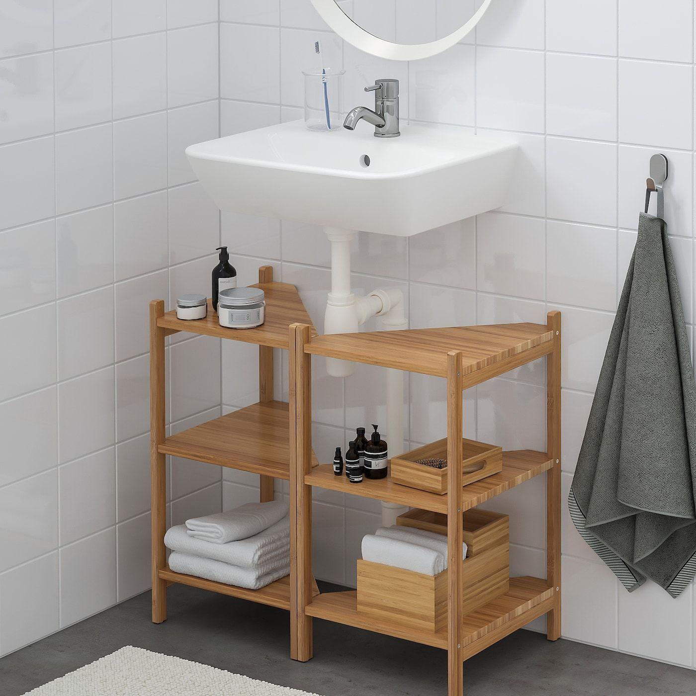 Ragrund Tyngen Sink Base Cabinet With 2 Doors Ikea Bathroom Sink Storage Sink Shelf Bathroom Sink Cabinets
