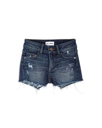 DL1961 Girls' Lucy Denim Cutoff Shorts - Little Kid #denimcutoffshorts