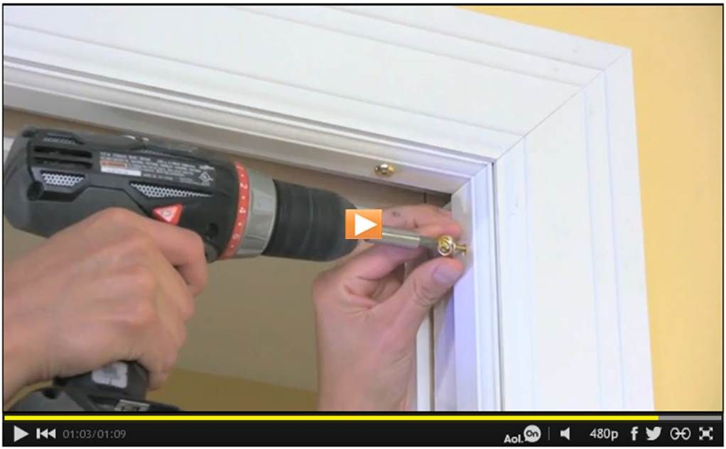 How to remove a pocket door watch the video httpwww