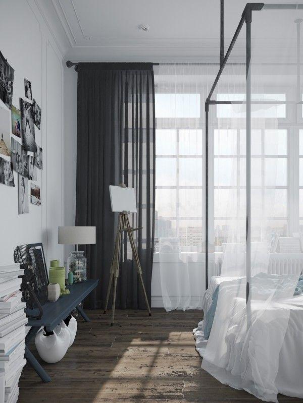 Think Decor Homedesigning Via Stylish Scandinavian Scandinavian Design Bedroom Bedroom Design Bedroom Interior