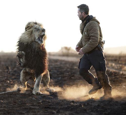 V obkľúčení divokých šeliem: Toto je skutočný zaklínač levov