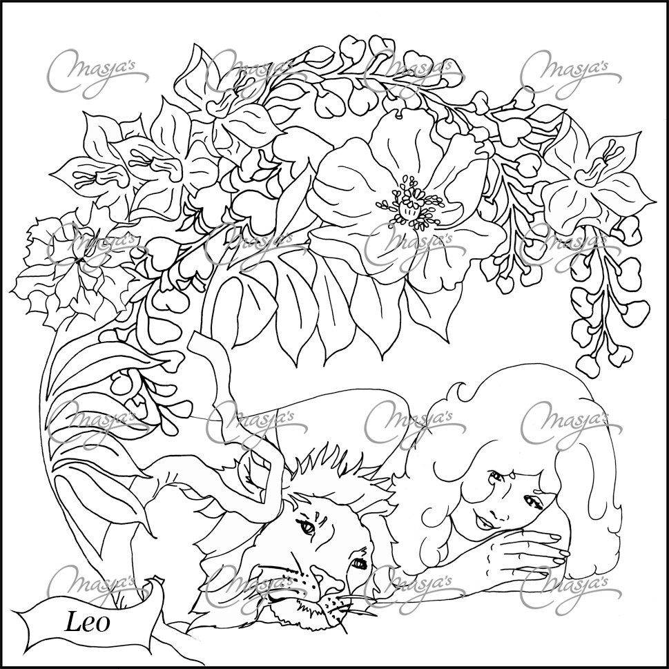 Zodiac coloring pages yahoo image search results zodiac coloring