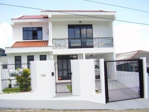 Fachadas Casas Bonitas 2 Plantas Fachada De Casa Com 2 Andares