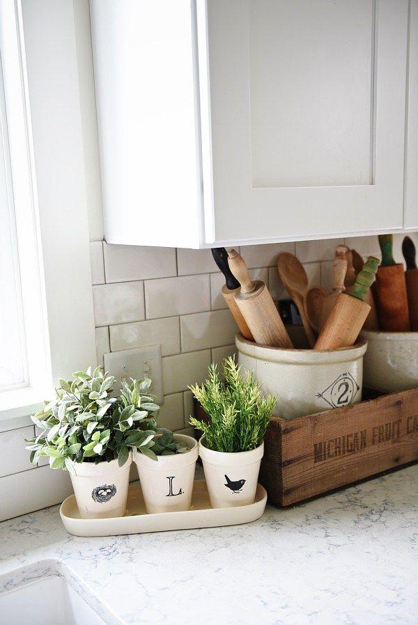 Merveilleux Cozy Farmhouse Kitchen Decor