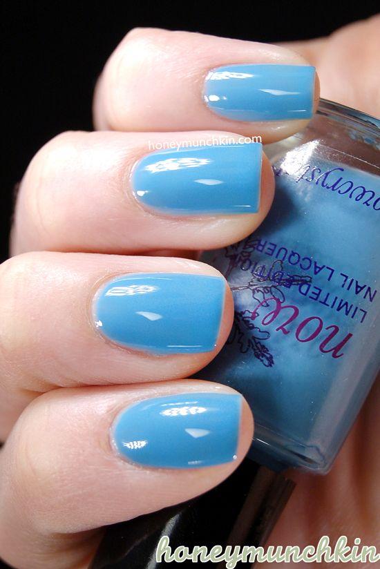 Snowcrystal 417 Dark Turquoise Nailpolish