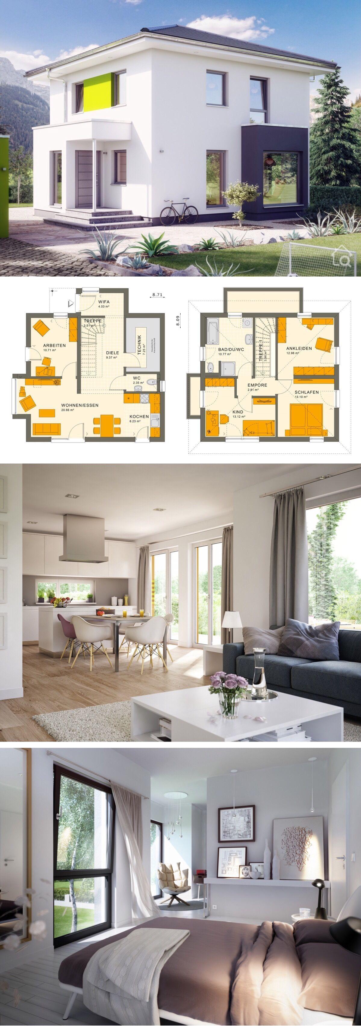 Small Villa Plan Modern Architecture Design Sunshine 113 V6 Dream