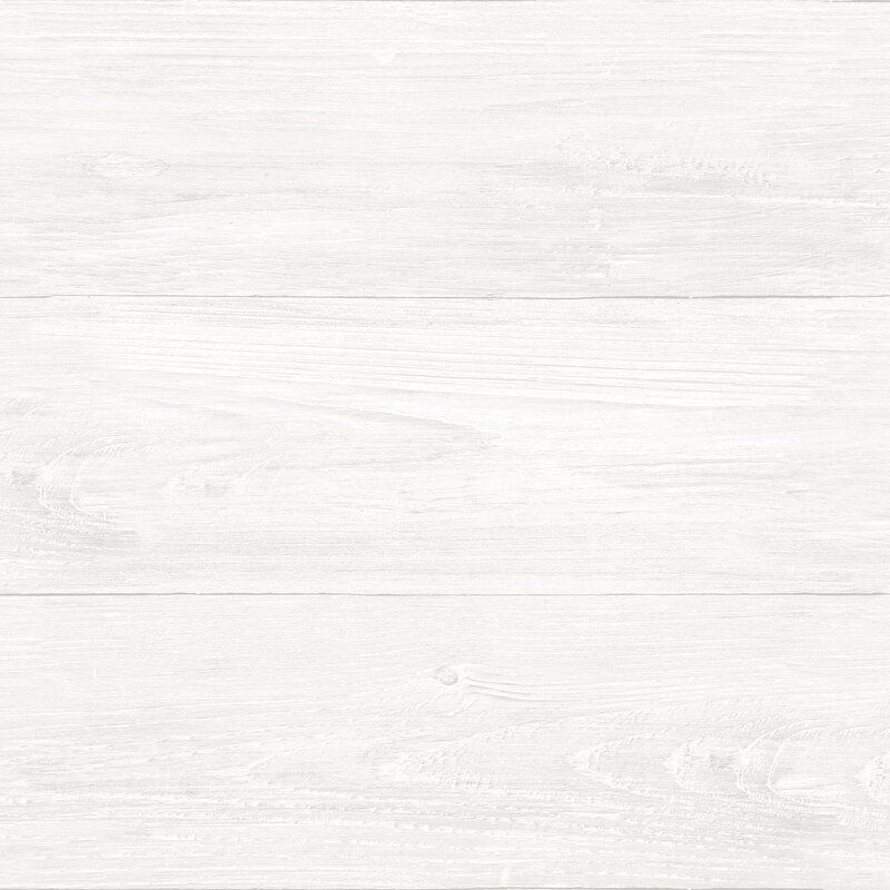 Edina Reclaimed Shiplap 18 X 20 5 Peel And Stick Wallpaper Roll White Wood Wallpaper Peel And Stick Shiplap Nuwallpaper