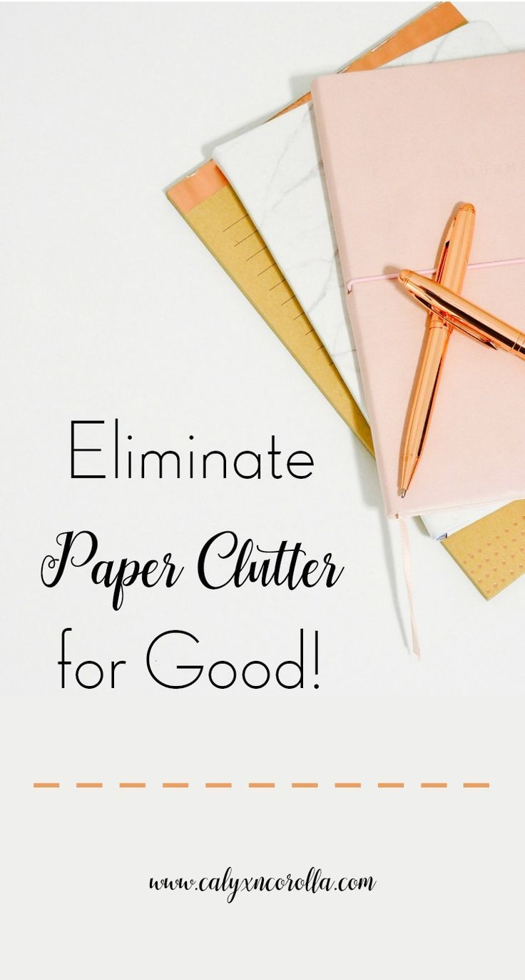 Eliminate Paper Clutter for Good is part of Organization Work Paper Clutter - Paper clutter is a struggle in the office  Eliminate paper clutter for good with just a few basic steps and take your office and your productivity back!