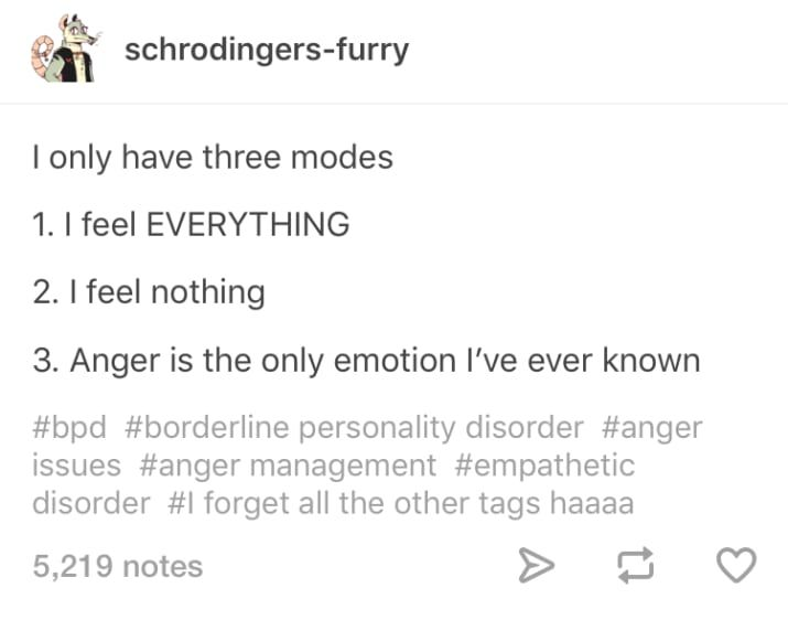 29 Tumblr Posts That Will Make Anyone With BPD Feel Less Alone