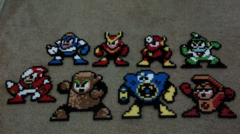 Robot Masters of Mega Man 2 by EightBitRobot on Etsy, $35.00