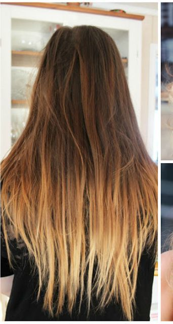 Brown Hair With Blonde Tips Blonde Tips Ombre Hair Ombre Hair