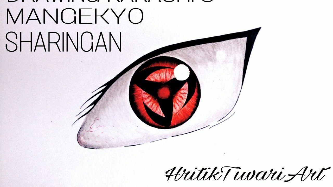 drawing realistic eye: mangekyo sharingan | Realistic eye ...