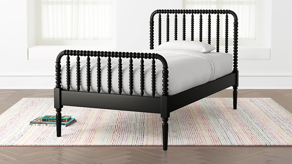 Jenny Lind Kids Bed (Black) Crate and Barrel in 2020