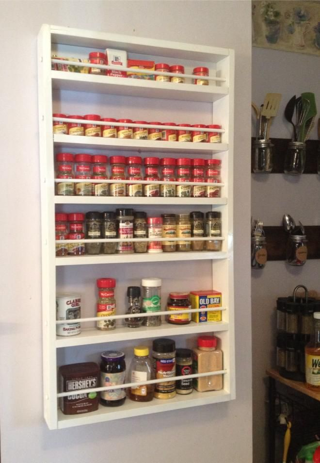 Spice Rack Do It Yourself Home Projects From Ana White Door