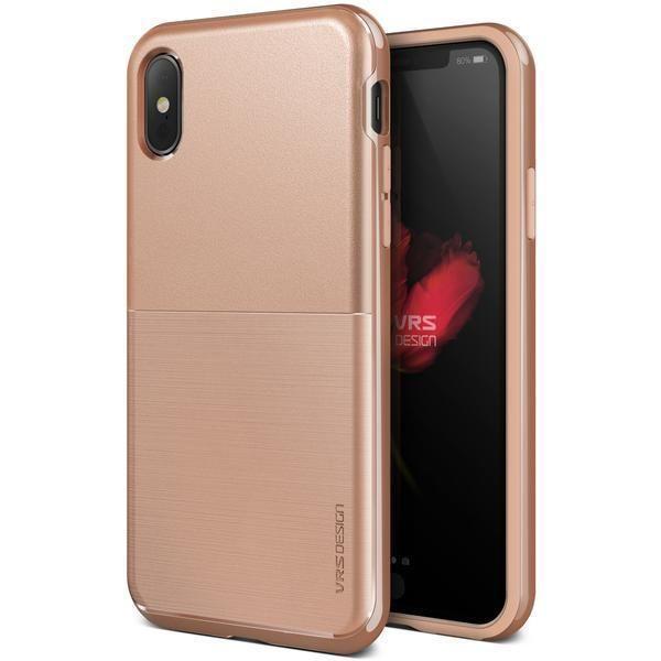 VRS High Pro Shield iPhone X / Xs Case Blush Gold S