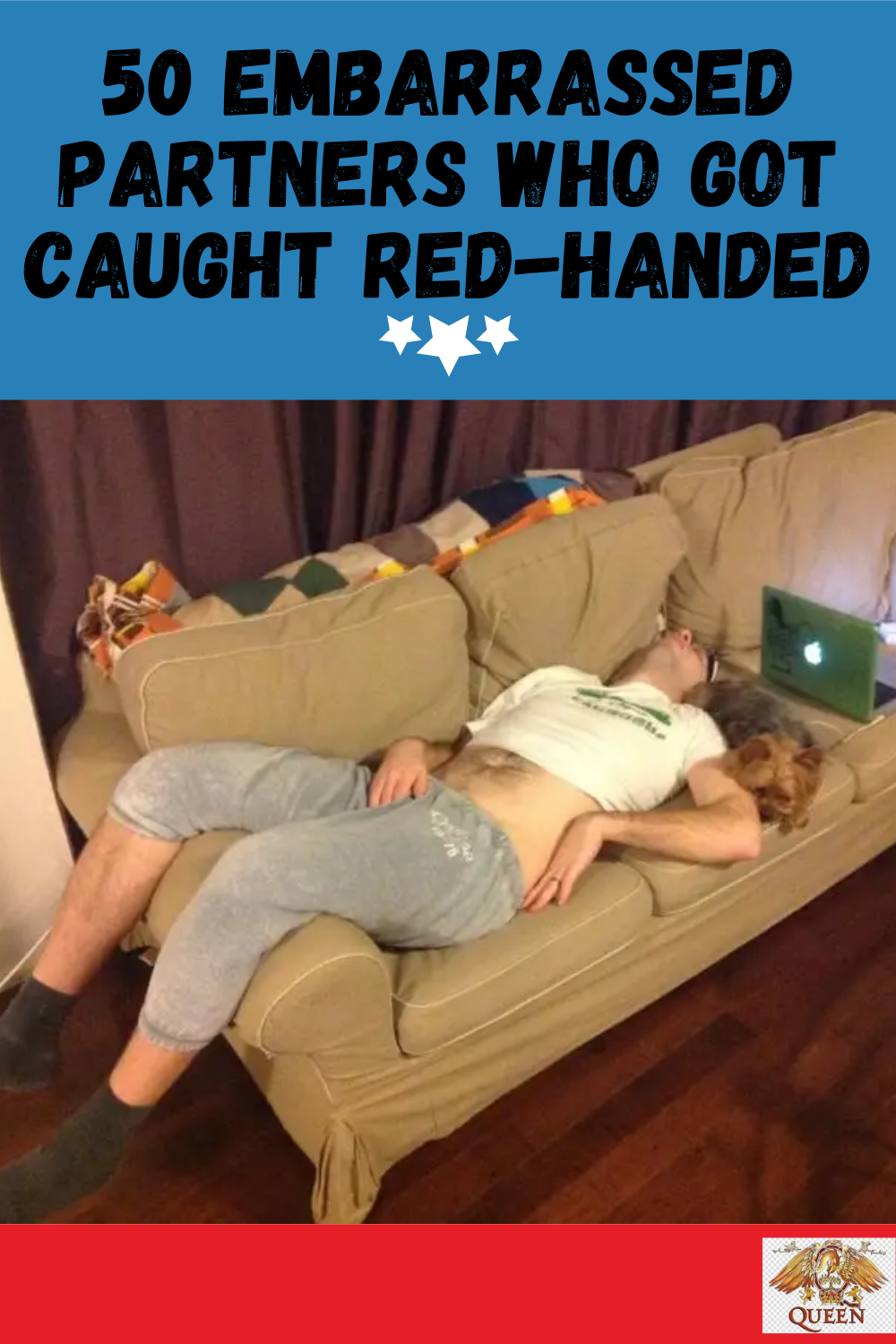 50 Embarrassed Partners Who Got Caught Red-Handed