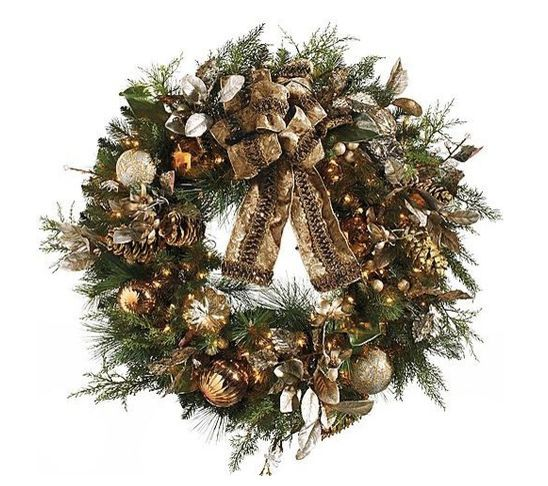 christmas decor bronze gold - Google Search 2014 Pinterest