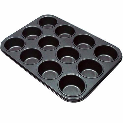 forma cupcake 12 cavidades anti-aderente - frete gratis !!!