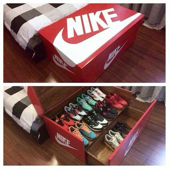 Bon Giant Nike Shoe Box   Shoe Storage