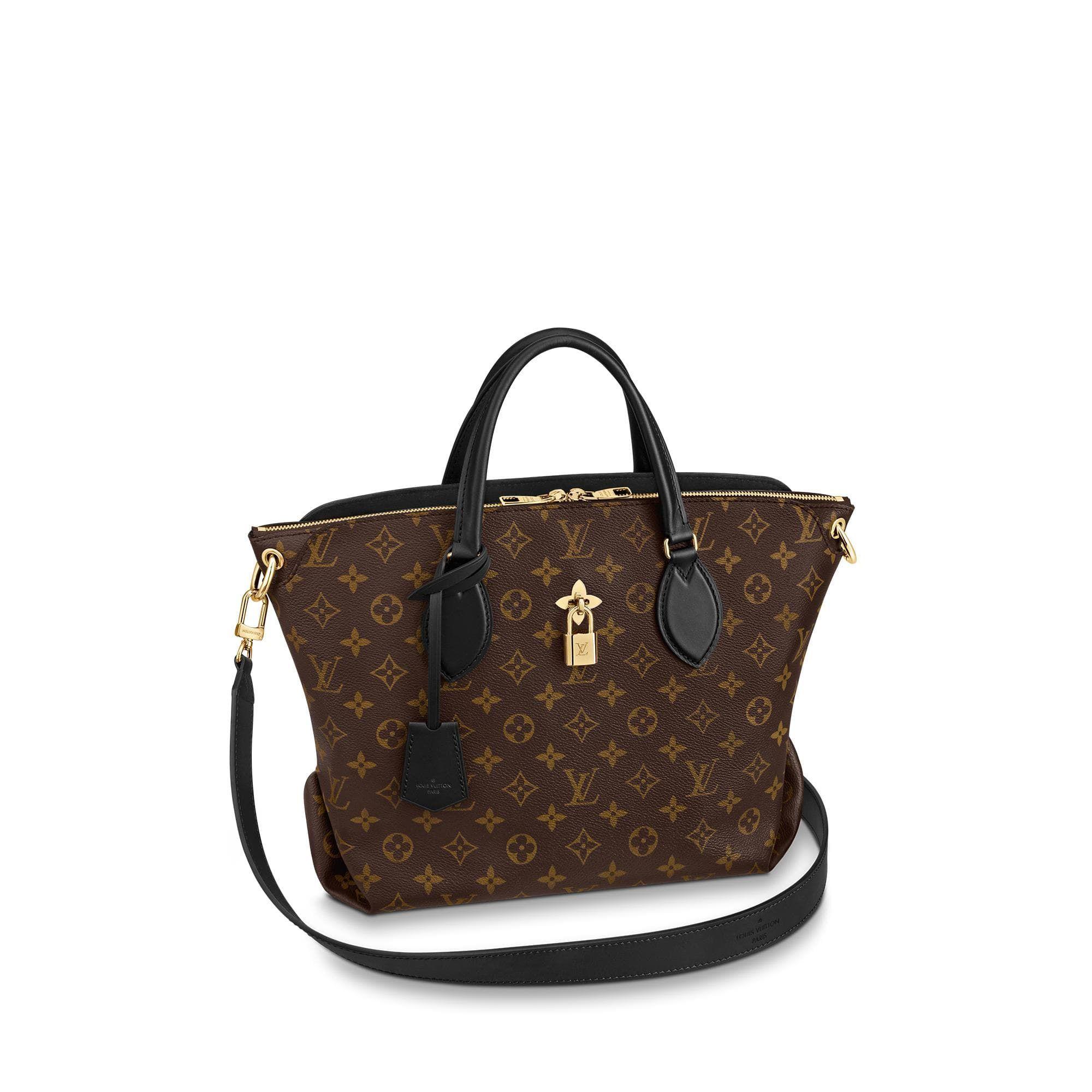 Flower Zipped Tote Mm Louis Vuitton Handbags Louis Vuitton