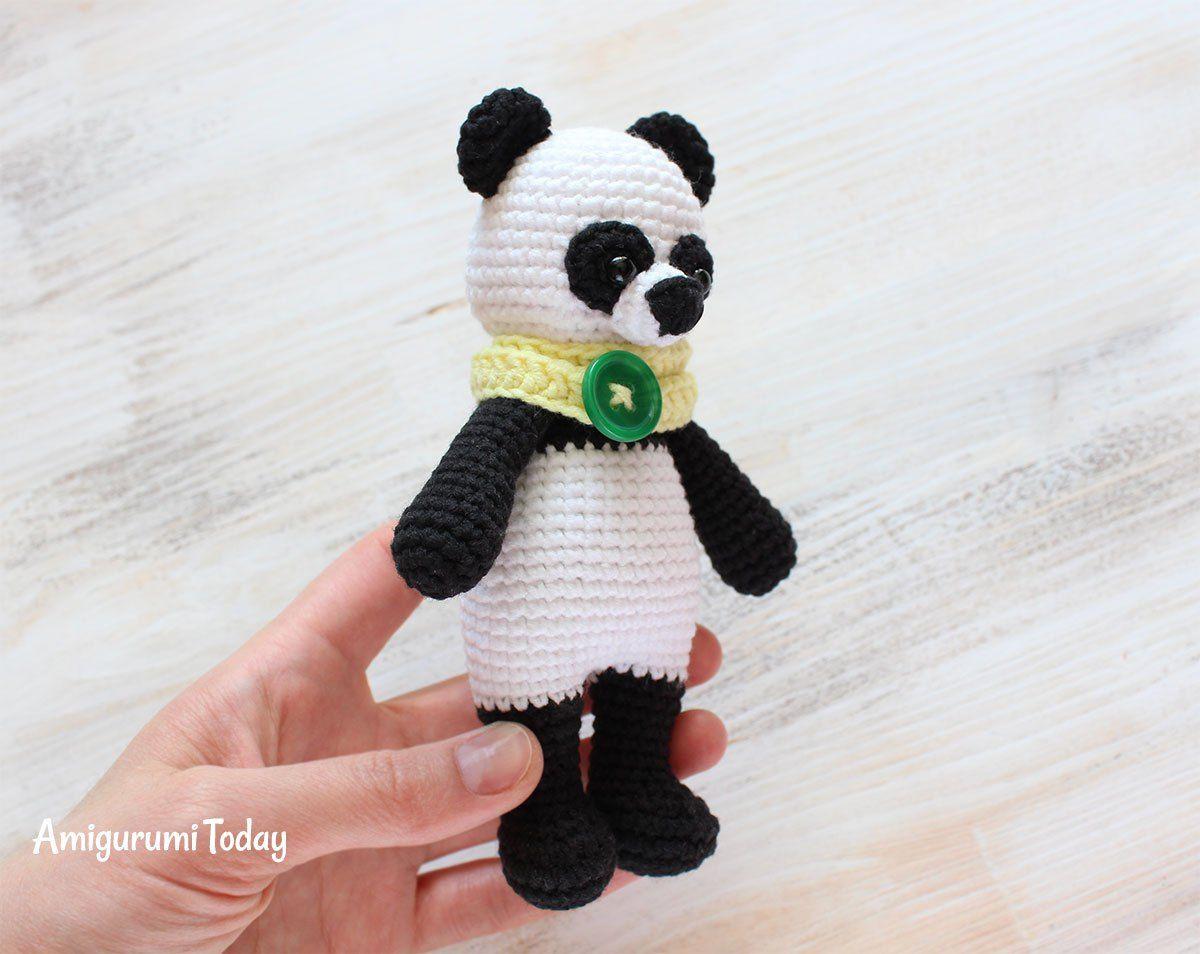 Cuddle Me Panda amigurumi pattern | Amigurumis gratis