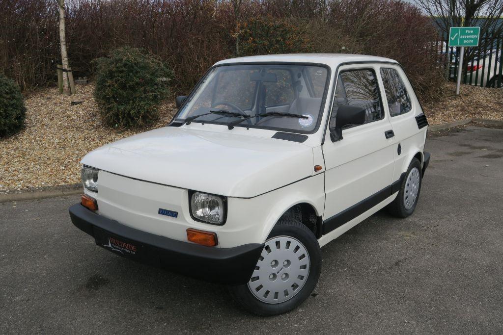 1990 Fiat 126 Bis 2dr Petrol Manual Bianco Corfu 248 Miles At