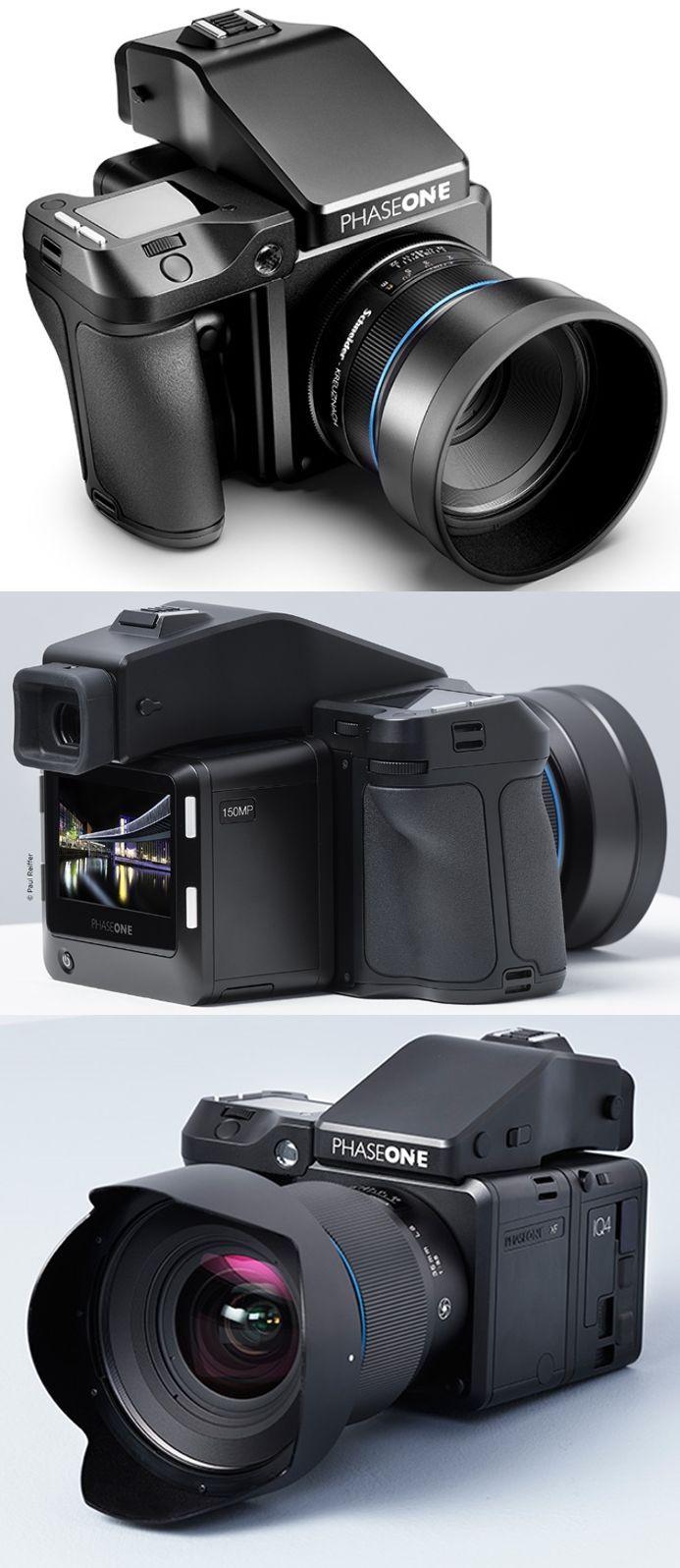 Phase One XF Digital Medium Format Camera 150MP (with IQ4 digital back). 100MP (with IQ3 digital back) #pahs…   Phase one. Medium format camera
